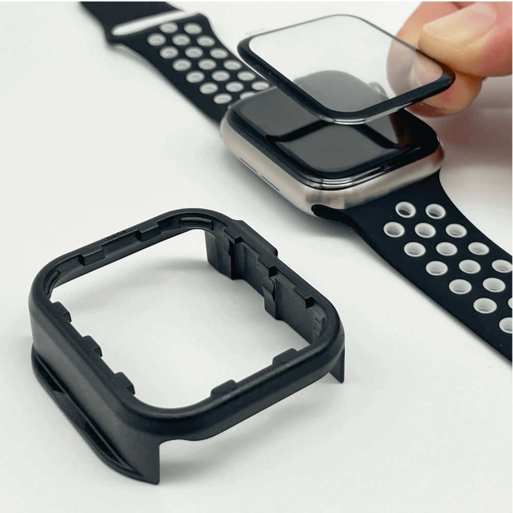 GLAZ Apple Watch Displayschutz Nouvo Inizio