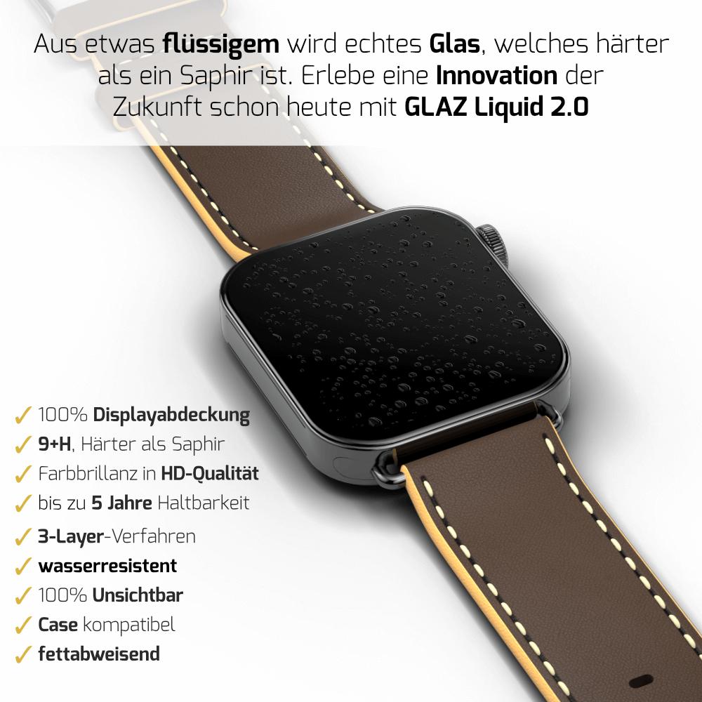 Apple Watch Series 7 flüssiges Panzerglas
